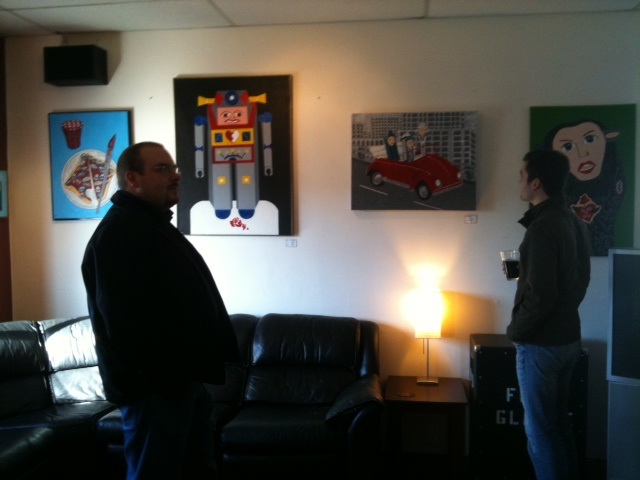 March 2011: Check out my art and enjoy some great beer at Big Al's Brewery